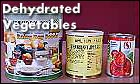Dehydrated Vegetables in Cans