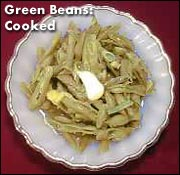 Dehydrated Green Beans Cooked