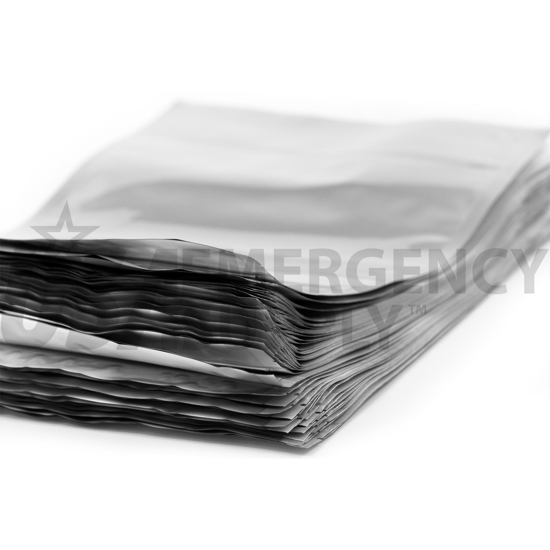 1 Gallon Mylar Bag With Ziplock 5 4 Mils 10in X 14in 4in
