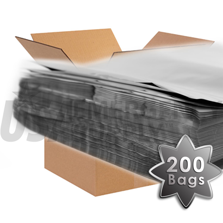 2 Gallon Mylar Bag Case Usa Emergency Supply