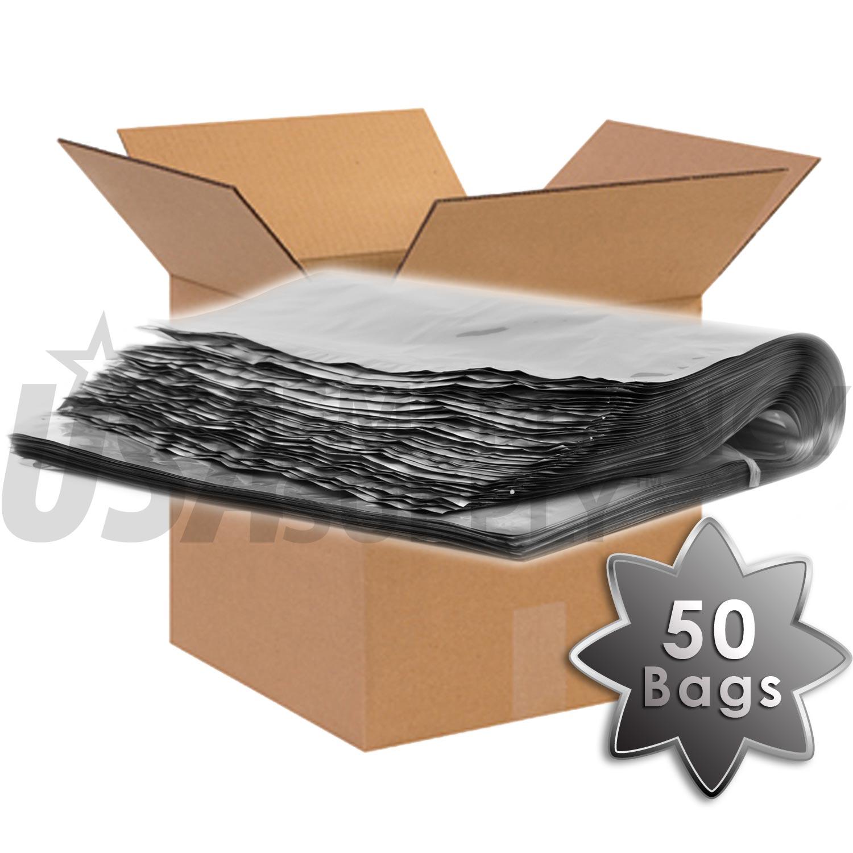 5 Gallon Mylar Bags With Ziplock 4 Mils 18in X 28in Case Of 50