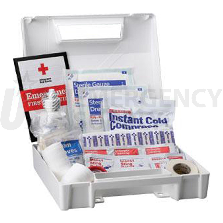 Bulk First Aid Kit Ansi 25 Person Plastic | USA Emergency Supply