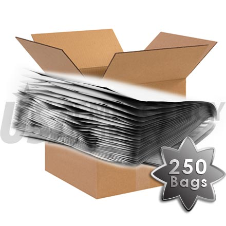 CASE - Mylar Bags - Mylar Food Storage Bag 12in. X 18in. (5.4 mils thick) - 1 case (250 bags)