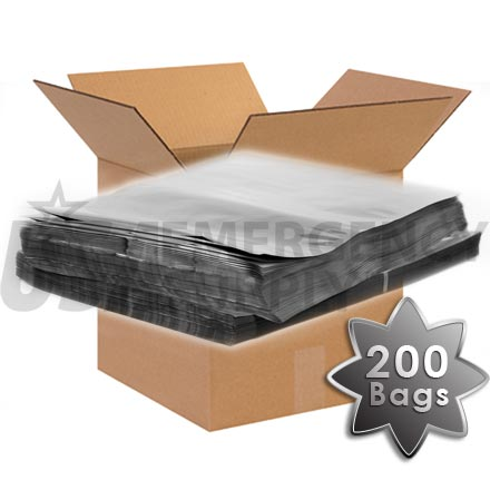 CASE - Mylar Bags - Mylar Food Storage Bag 14in. X 20in. (5.4 mils thick) - 1 case (200 bags)