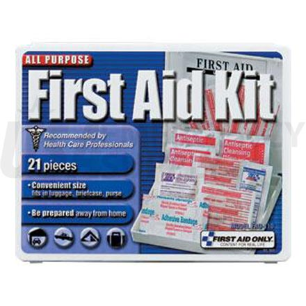 All Purpose First Aid Kit, 21 pc