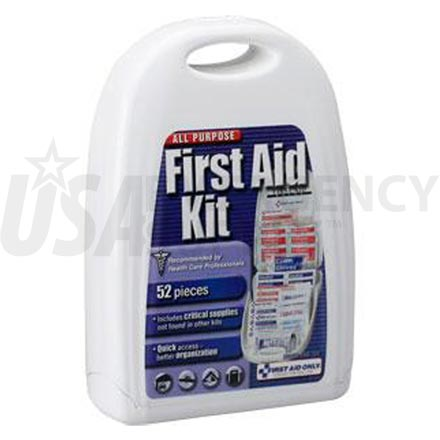 All Purpose First Aid Kit, 52 pc - Small
