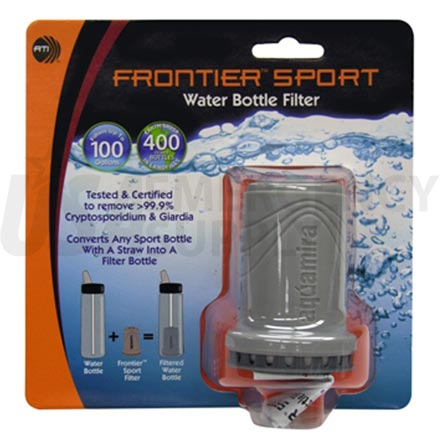 Water Purification - Aquamira Frontier Sport Filter