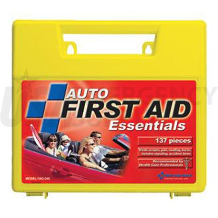 Auto First Aid Kit, 137 pc - Large