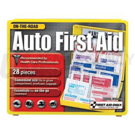 Auto First Aid Kit, 28 pc