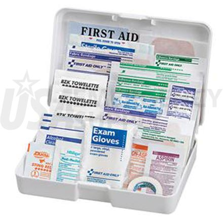 Auto First Aid Kit, 41 pc