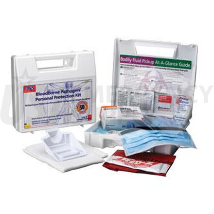 Bloodborne Pathogen/Personal Protection Kit, w/6 pc CPR Pack