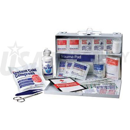 Bulk First Aid Kit - 25 Person Metal case