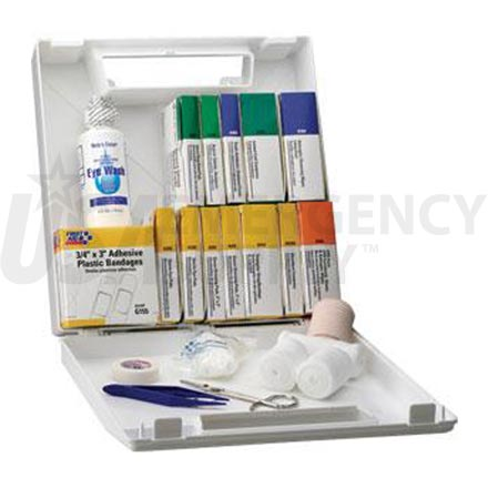 Bulk First Aid Kit - 50 Person Plastic case