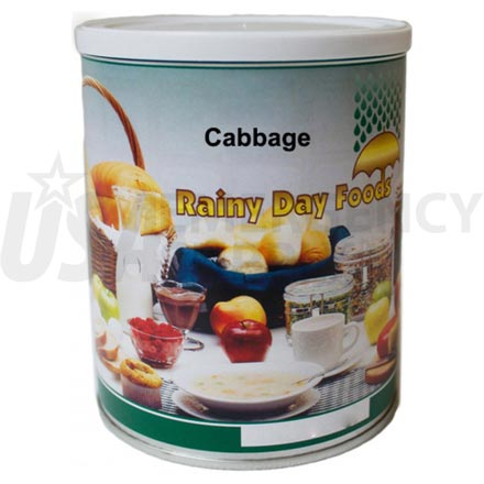 Cabbage - Dehydrated Cabbage 6 oz. #2.5 can