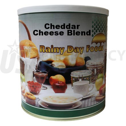 Cheddar Cheese - Dehydrated Cheddar Cheese Powder 51 oz. #10 can