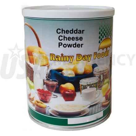 Cheddar Cheese - Dehydrated Cheddar Cheese Powder 13 oz. #2.5 can