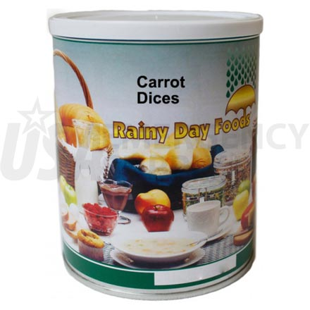 Carrot - Dehydrated Diced Carrots 11 oz. #2.5 can