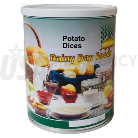 Potato Dices - Dehydrated Potato Dices 6 x #2.5 cans
