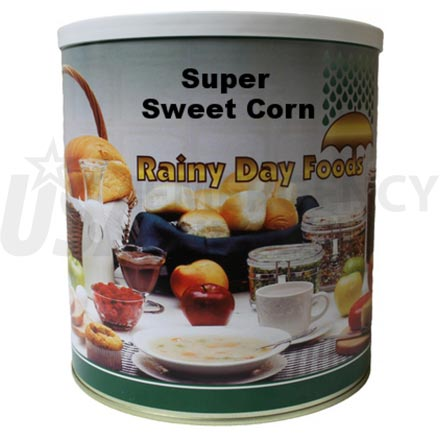 Corn - Dehydrated Super Sweet Corn 38 oz. #10 can