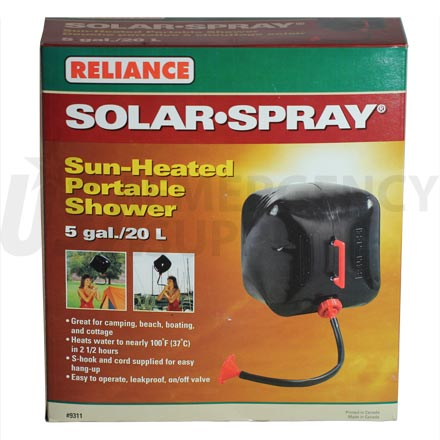 Emergency Hygiene - Solar Shower