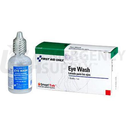 Eye Wash, 1 oz Screw Top - 1 per box