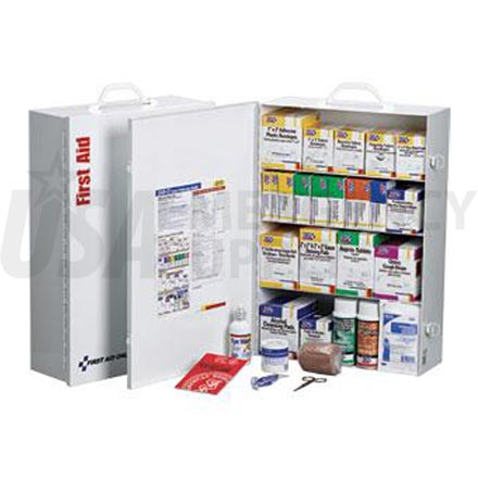 4 Shelf Industrial First Aid Station - 150 Person