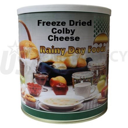 Freeze Dried Colby 37 oz. #10 can
