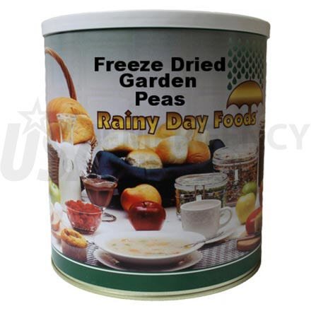 Freeze Dried Garden Peas 6 x #10 cans