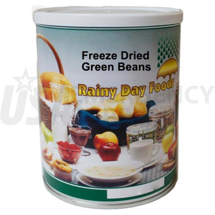 Freeze Dried Green Beans 1.8 oz. #2.5 can