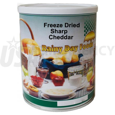 Freeze Dried Sharp Cheddar 6 x #2.5 cans