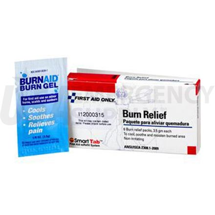 Gel Burn Relief - 3.5 grams per pack - 6 packs per box