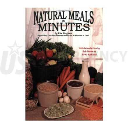 Cookbook - Natural Meals in Minutes
