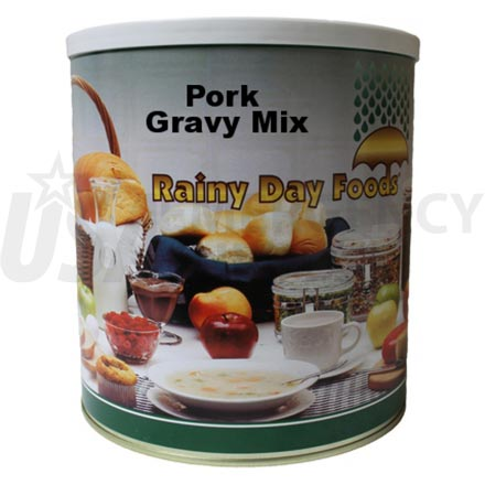 Mix - Pork Gravy 55 oz. #10 can