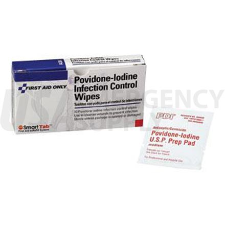 Povidone-Iodine Infection Control Wipe - 10 per box