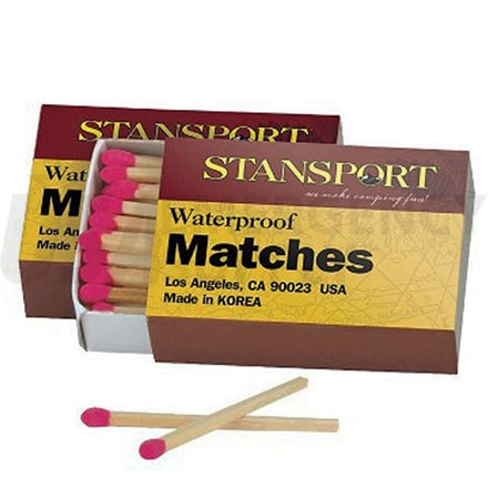 Emergency Matches - Stansport Waterproof Matches
