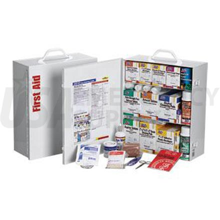 3 Shelf Industrial First Aid Station - 100 Person