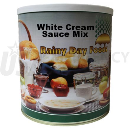 Mix - White Cream Sauce Mix 63 oz. #10 can